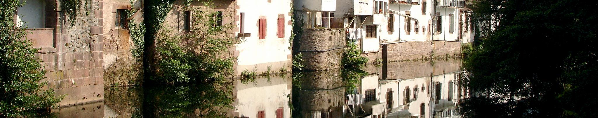 Río Bidasoa a su paso por Elizondo